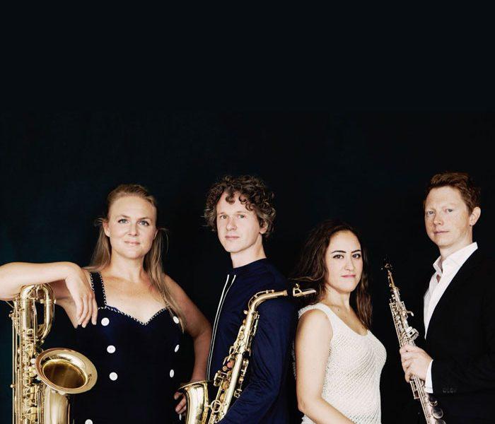 Berlage Saxophone Quartet en Jan Brokken