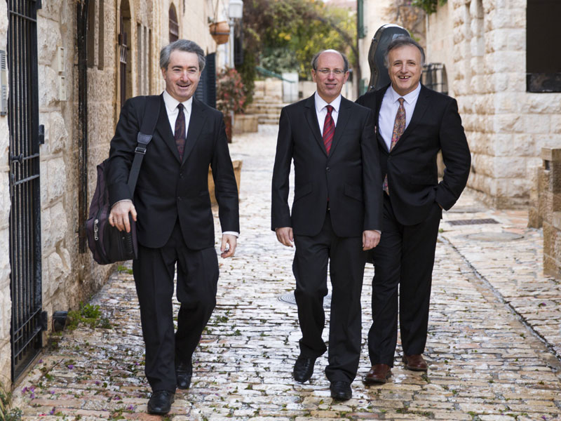 Trio Saham Erez Wallfish
