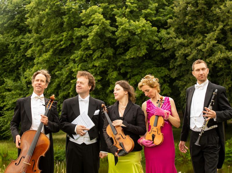 Folke Nauta,  Lars Wouters van den Oudenweijer en het Prisma String Trio